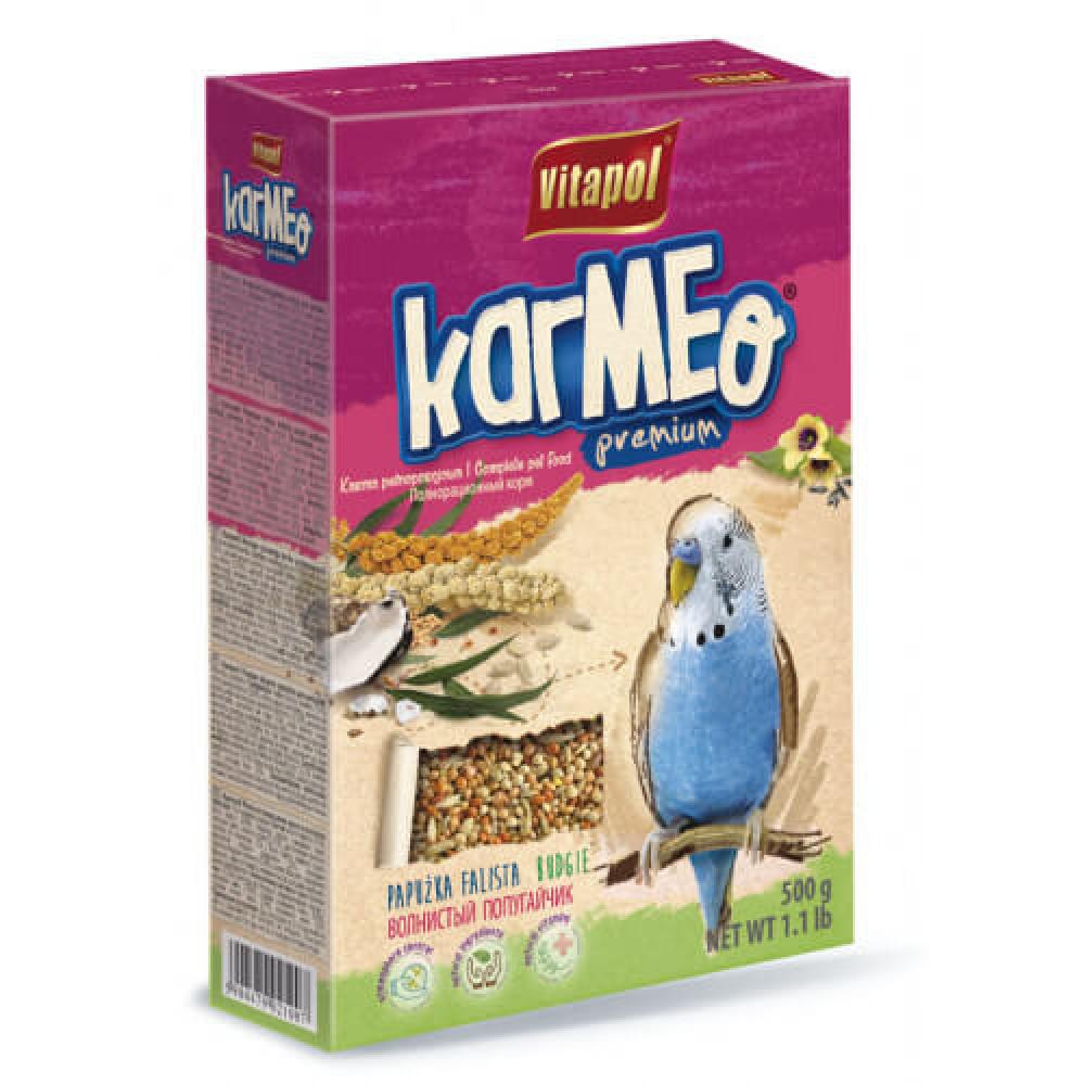 Премиум корм Vitapol Karmeo для попугаев, 500г