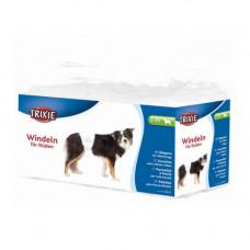 Гигиеническая повязка Trixie для собак, размер S-M, белая, 30-46см, упаковка 12 шт