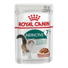 Влажный корм Royal Canin Instinctive 7+ для кошек от 7 лет, кусочки в соусе, 85 г