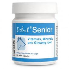 Пищевая добавка Dolfos Dolvit Senior Mini для пожилых собак мелких пород, 90 таблеток