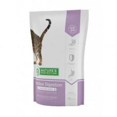 Сухой корм Natures Protection Sensitive Digestion для кошек с чувствительным пищеварением от 1 до 8 кг, 400гр