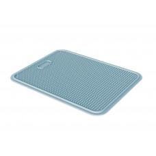 Пластиковый коврик Iago GeorPlast под туалет размер 45х35 см Голубой