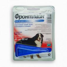 Капли Boehringer Ingelheim Фронтлайн Спот Он от блох и клещей для собак, XL, 40-60 кг