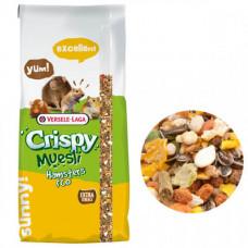Корм Versele-Laga Crispy Muesli Hamster для хомяков, декоративных крыс, мышей, песчанок, 20кг