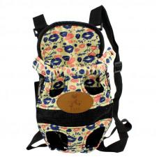 Рюкзак-переноска на груди для домашних животных Hoopet HY-1204 L Lips