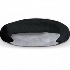 Лежак K&H Bolster самосогревающийся, для собак, серый, черный