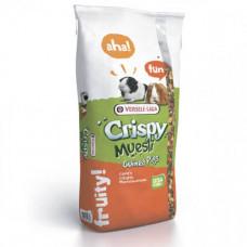 Полноценный корм Versele-Laga Crispy Muesli Guinea Pigs для морских свинок, с витамином C, 20кг