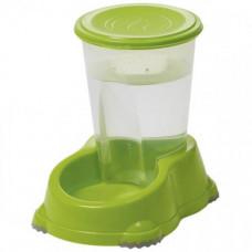 Автоматическая поилка Moderna Смарт для собак и кошек, 1,5 л, лимонная, 23 х 15 х 21 см
