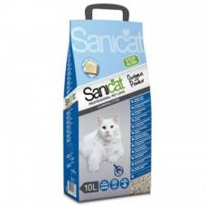 Комкующий наполнитель Sanicat Clean Oxygen для кошачьего туалета с ароматом марсельского мыла, 10 л
