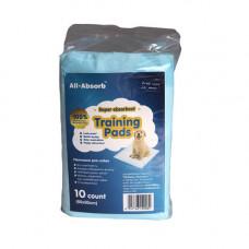 Пеленки All-Absorb Basic для собак 60х45см, 10 шт