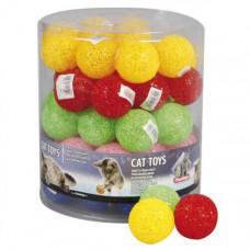 Игрушка Flamingo Glitter Ball мяч для кошек 5 см