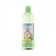 Добавка в воду TropiClean Fresh Breath для ежедневной гигиены полости рта для кошек, 473 мл