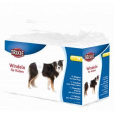 Гигиеническая повязка Trixie для собак, размер M-L, белая, 46-60см, упаковка 12 шт
