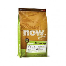 Беззерновой корм NOW Senior Small Breed для пожилых собак малых пород, с индейкой, уткой и лососем, 2,72 кг