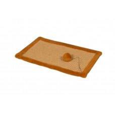 Когтеточка-коврик для кошки Мур-Мяу Коричневая