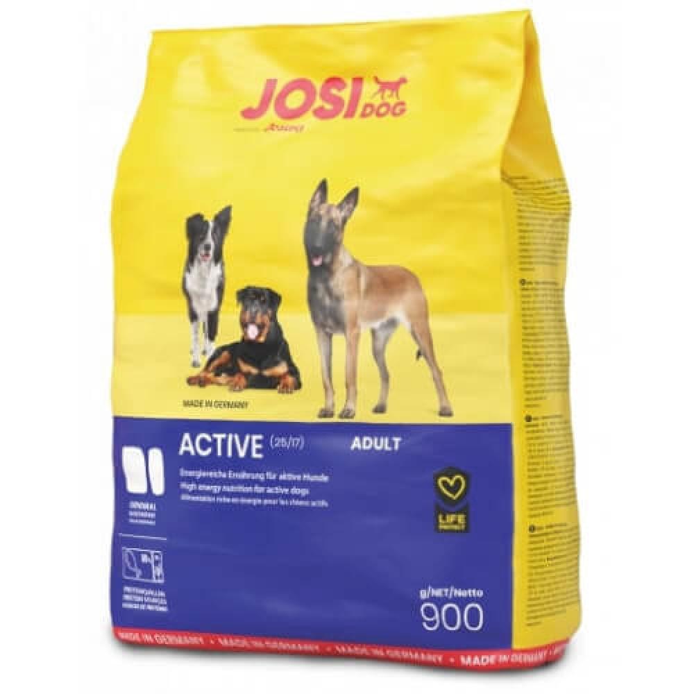 Сухой корм Josera JosiDog Active для активных взрослых собак, с птицей, кукурузой и рисом, 4,5 кг