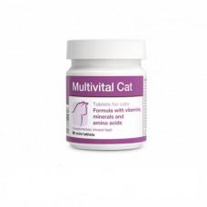Вітамінно-мінеральна добавка Dolfos Multivital Cat для котів та кішок 90 шт