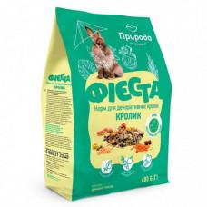 Полноценный корм Природа Фиеста для декоративых кроликов, 600гр