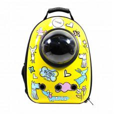 Рюкзак-переноска для кошек Taotaopets Window Dogs