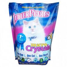 Наполнитель Litter Pearls Micro Crystals для кошачьего туалета, кварцевый 4.76кг