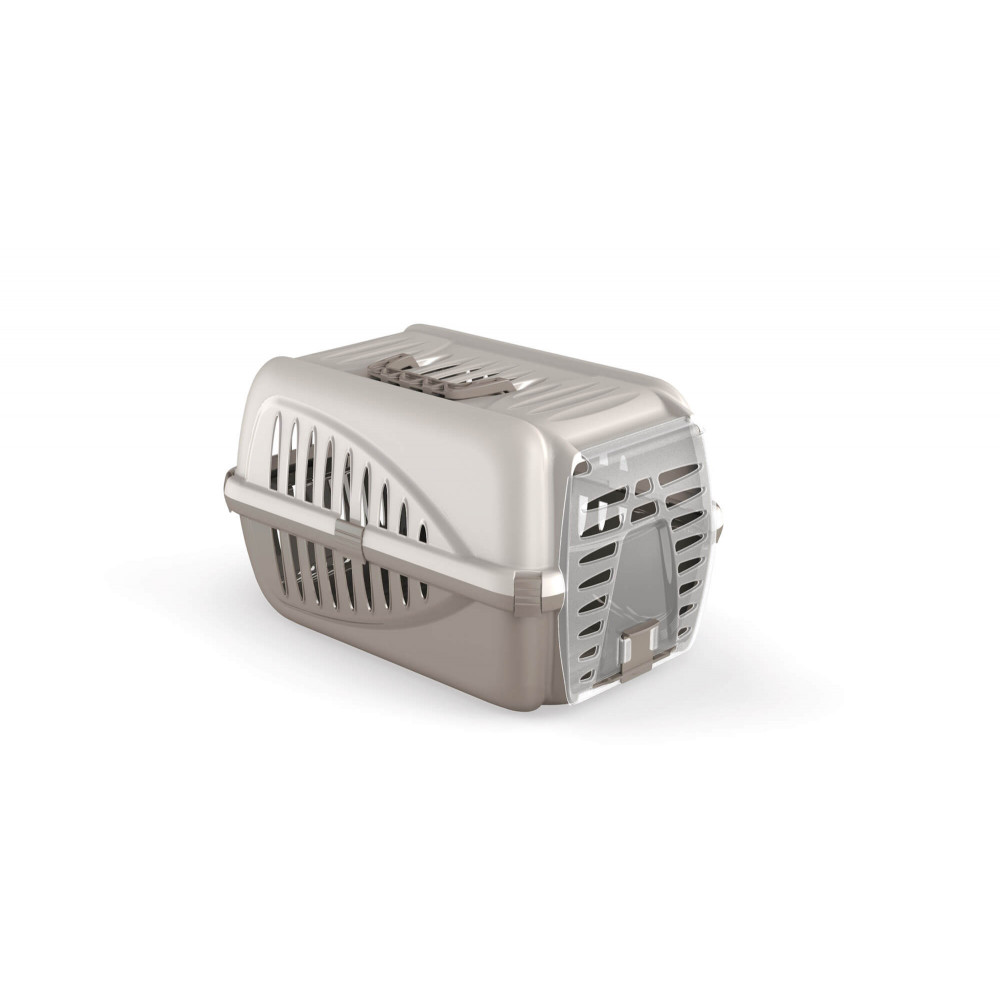 Переноска для домашних животных собак Panzer Бело-Горчичный
