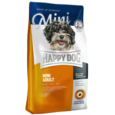 Cухой корм для взрослых собак мелких пород весом до 10 кг Happy Dog Mini Adult 4 кг