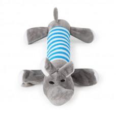 Игрушка Плюшевая для домашних животных Taotaopets 033322 Серый Слон
