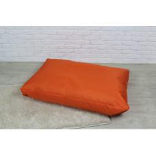 Бескаркасный лежак для собак Beans Bag из ткани Оксфорд стронг 115х75 см с чехлом Оранжевый