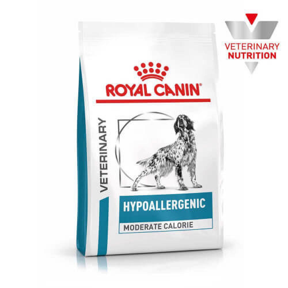 Сухой корм Royal Canin Hypoallergenic Moderate Calorie при пищевой аллергии у собак, 14 кг