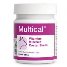 Пищевая добавка Dolfos Multical Mini для повышения физиологического развития для собак мелких пород, 90 таблеток
