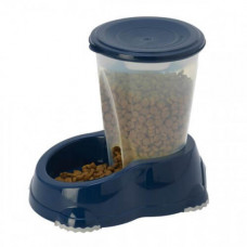 Автоматическая кормушка Moderna Смарт для собак и кошек, 1,5 л, лимонная, 23 х 15 х 21 см