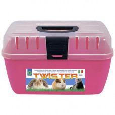 Переноска Georplast Twister Small для cобак и кошек, 29x19x18см