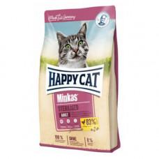 Сухой корм Happy Cat Minkas Sterilised для взрослых стерилизованных кошек и кастрированных котов, 0.5кг