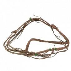 Лиана изогнутая с листьями REPTI-ZOO RV0418 150см