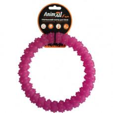 Игрушка AnimAll Fun кольцо с шипами 20 см Фиолетовый