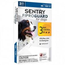 Капли Fiproguard от блох, клещей и вшей для собак 40-60 кг, 4,02 мл, 3 шт, цена за 1 шт