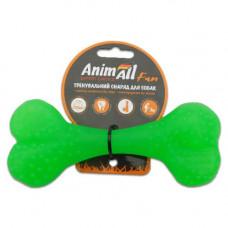 Игрушка AnimAll Fun кость 15 см Зеленый