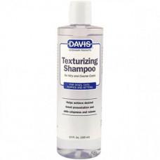Шампунь Davis Texturizing Shampoo для жесткой и объемной шерсти у собак и котов, концентрат, 355мл
