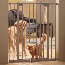 Перегородка Savic Dog Barrier+Small Door для собак с дверцей, 107 х 75-84 см