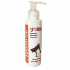 Масло VitamAll Salmon Oil Лососевое для кошек и собак 100мл