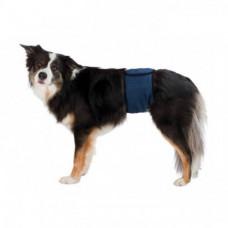 Гигиенический пояс Trixie для собак, размер XL, синий, 65-75см