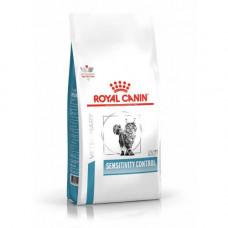 Сухой корм Royal Canin Sensitivity Control при пищевой аллергии у кошек 400гр