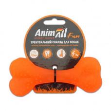 Игрушка AnimAll Fun кость 12 см Оранжевая