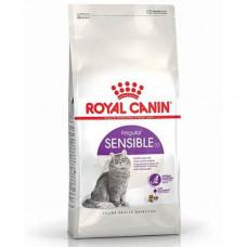 Сухой корм Royal Canin Sensible при чувствительном пищеварении у кошек, 10 кг