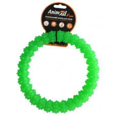 Игрушка AnimAll Fun кольцо с шипами 20 см Зеленый