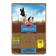 Подстилка Kaytee Clean&Cozy Natural для грызунов, целлюлоза, 4.1л
