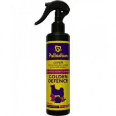 Спрей Palladium Golden Defence от блох и клещей для собак, кошек и декоративных грызунов, 250 мл