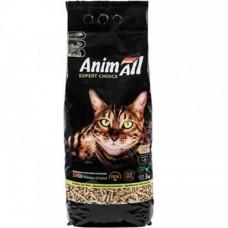 Древесный наполнитель AnimAll для котов, 2 кг