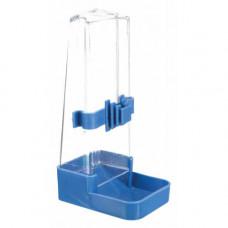 Поилка-кормушка Trixie для птиц, пластиковая, 200мл/16см
