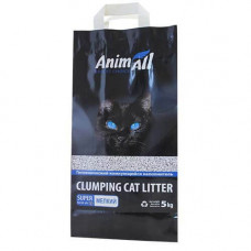Бентонитовый наполнитель туалетов для кошек AnimAll мелкая фракция 5 кг